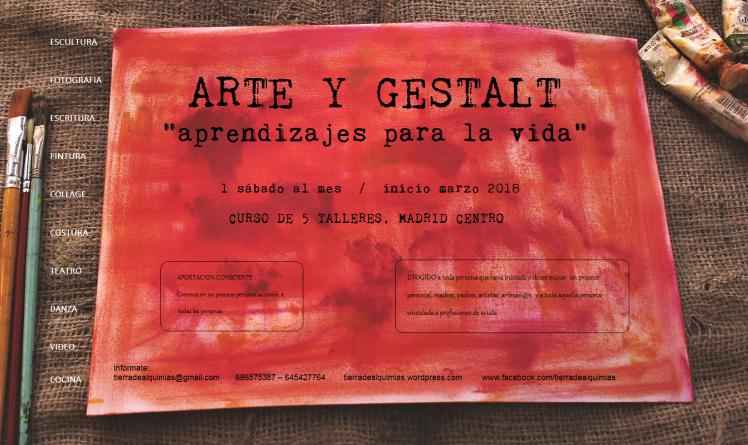 CARTEL MADRID ARTE Y GESTALT